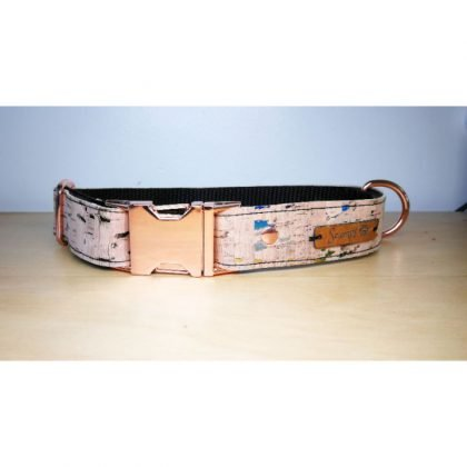 Pet Pooch Boutique Cork Collar from Forsyth and Tedd