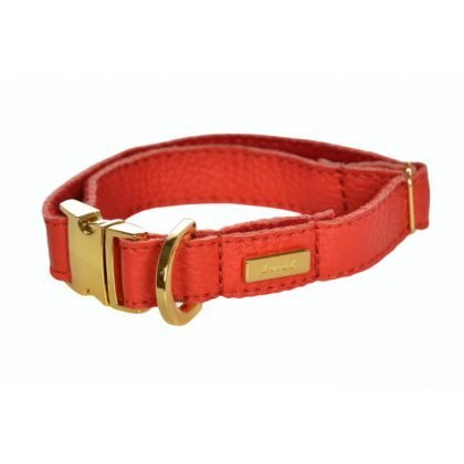 Lurril Red Collar from Forsyth and Tedd