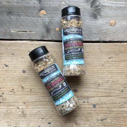 Fish Sprinkles dietary supplement from Forsyth And Tedd