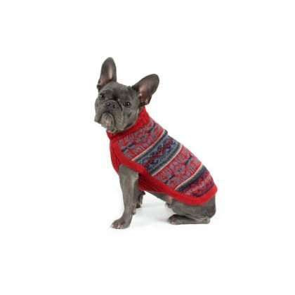 Alpaca wool dog jumper by Forsyth And Tedd