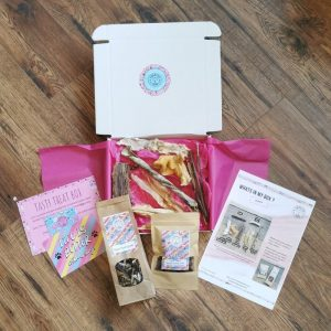 Dog Subscription Box from Forsyth and Tedd