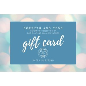 Gift Cards from Forsyth and Tedd