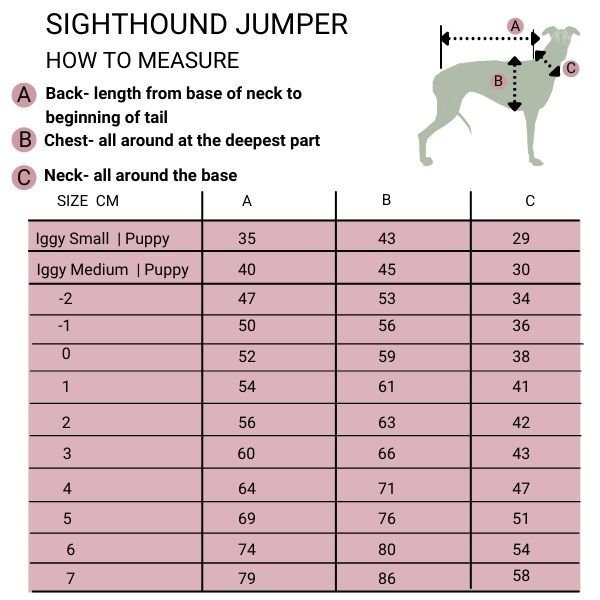 Sighthound Jumpers from Forsyth and Tedd